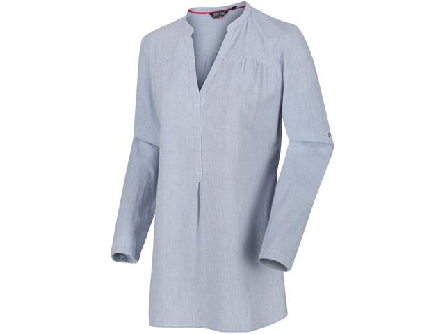 Regatta Maelie T-shirt à manches longues Femme, ticking stripe